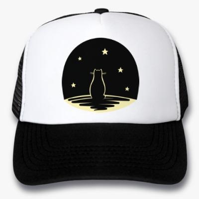 Кепка-тракер Кот и звезды