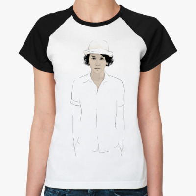 Женская футболка реглан   Тома