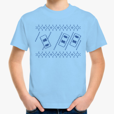 Детская футболка Свитер с Оленем