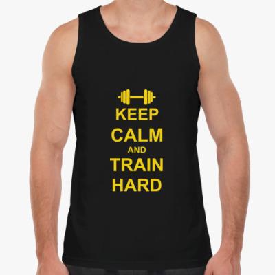 Майка Train hard