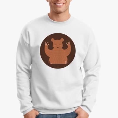 Свитшот  Animal Zen: B is for Bear