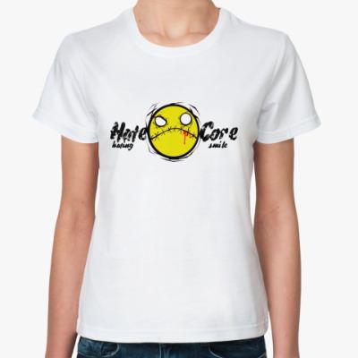 Классическая футболка HcSmile