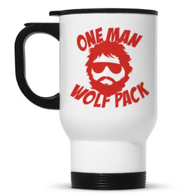 Кружка-термос Wolfpack. Человек-волчья стая.