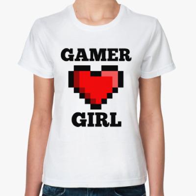 Классическая футболка Геймерша