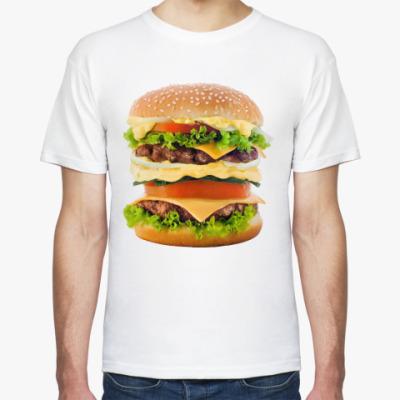Футболка Большой гамбургер