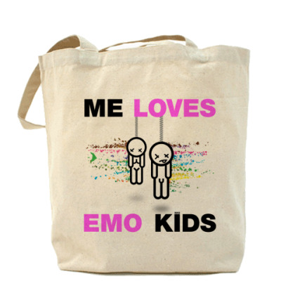 Сумка  ME LOVES EMO KIDS