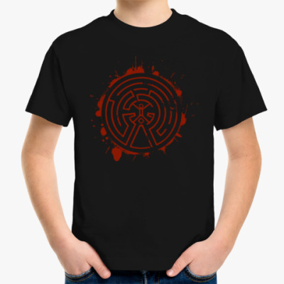 Детская футболка Мир Дикого Запада Лабиринт