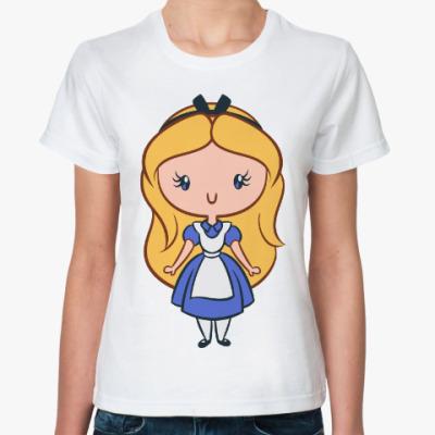 Классическая футболка Золушка