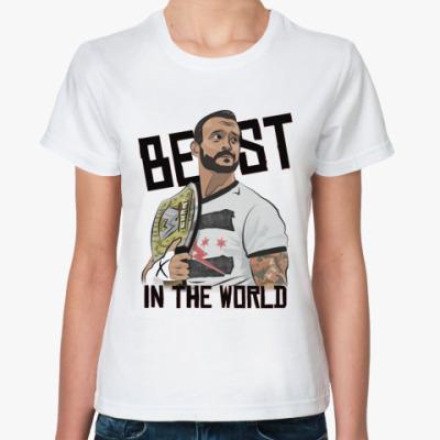 Классическая футболка  CM Punk
