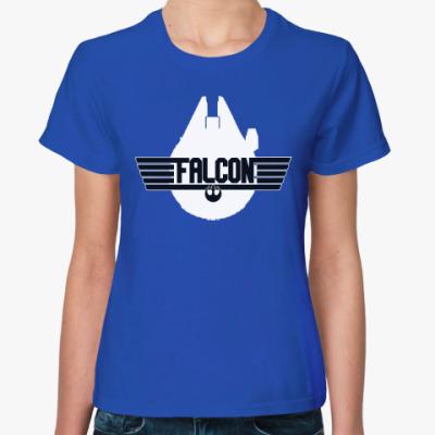 Женская футболка Тысячелетний сокол (Звёздные войны)