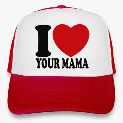 Кепка-тракер Люблю твою маму