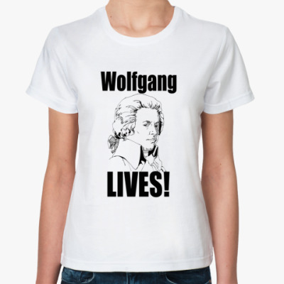 Классическая футболка Wolfgang LIVES!