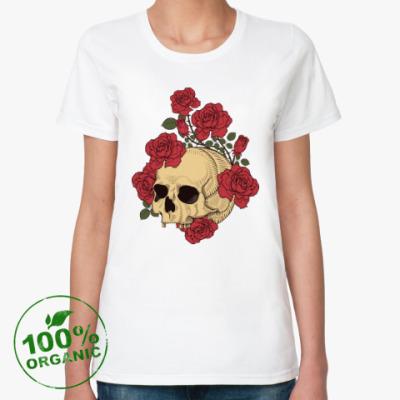 Женская футболка из органик-хлопка The Dead Garden