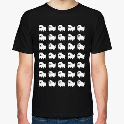 Футболка Undertale Annoying Dog Pattern