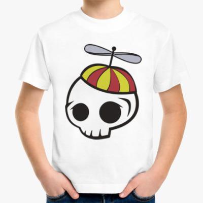 Детская футболка Черепки
