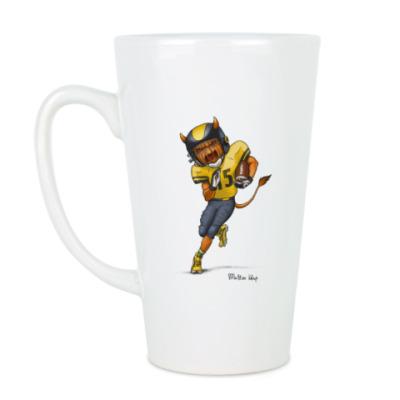 Чашка Латте Тыква Американский футбол