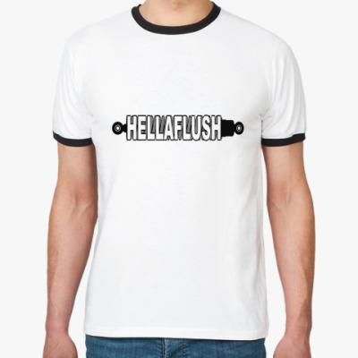 Футболка Ringer-T  Hellaflush.