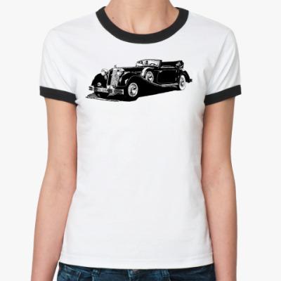 Женская футболка Ringer-T HORCH
