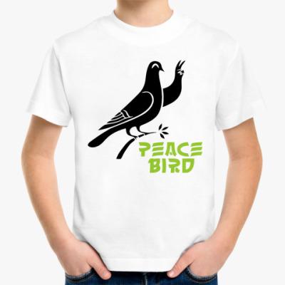 Детская футболка Peace Bird