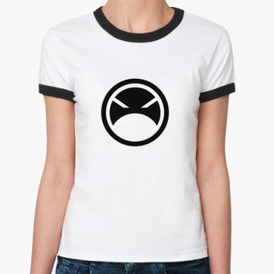 Женская футболка Ringer-T Absolute Zlo