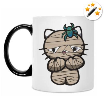 Кружка-хамелеон Китти Мумия
