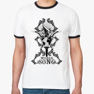 Футболка Ringer-T I world song