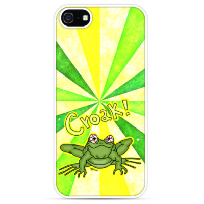 Чехол для iPhone Croak!