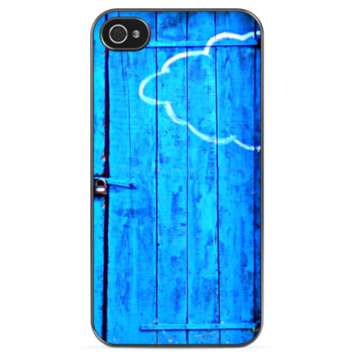 Чехол для iPhone Синяя дверь
