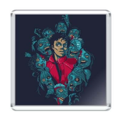 Магнит Майкл и зомби