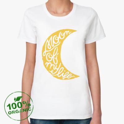 Женская футболка из органик-хлопка Moon of my life Игра престолов