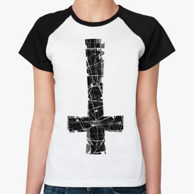 Женская футболка реглан 2Крест