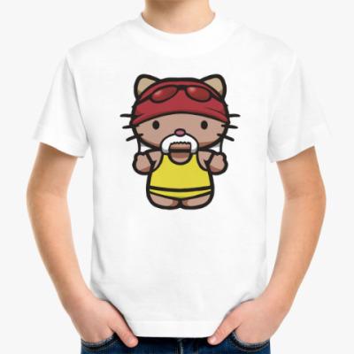Детская футболка Китти Халк Хоган