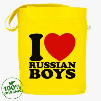 Сумка Люблю русских парней