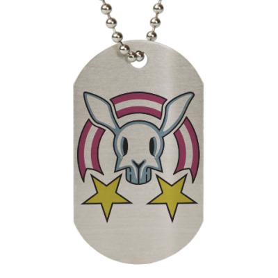 Жетон dog-tag Звездный заяц