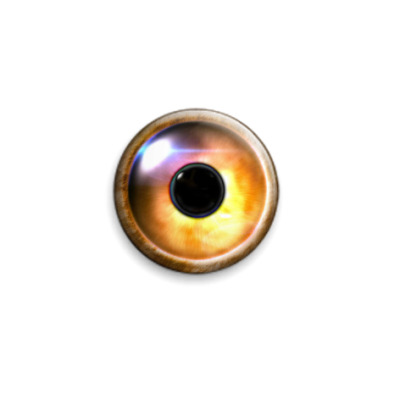 Значок 25мм  Глаз Саурона