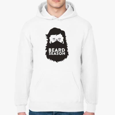 Толстовка худи Сезон бородачей Beard Season