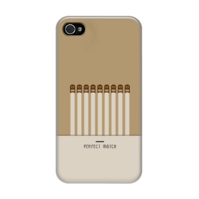 Чехол для iPhone 4/4s Perfect Match