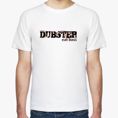 Футболка  DUBSTEP eat bass
