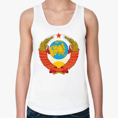 Женская майка  Герб СССР
