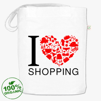 Сумка Я люблю шоппинг