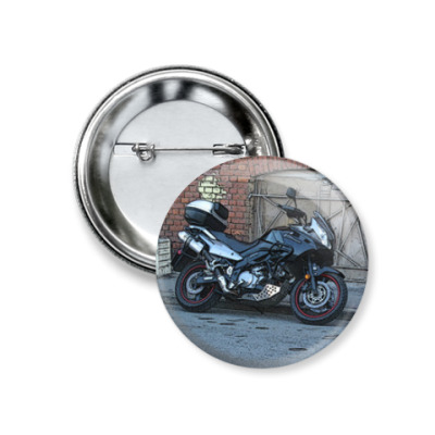 Значок 37мм Мотоцикл