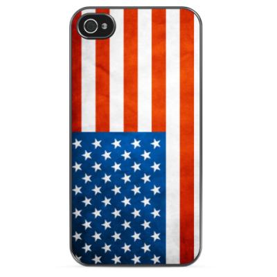 Чехол для iPhone Американский Флаг