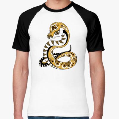 Футболка реглан Змея