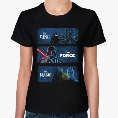Женская футболка Темный Лорд