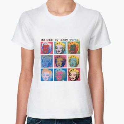 Классическая футболка Pop-art