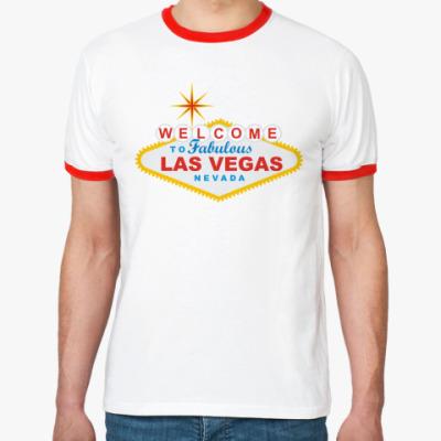 Футболка Ringer-T Las Vegas