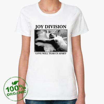 Женская футболка из органик-хлопка Joy Division