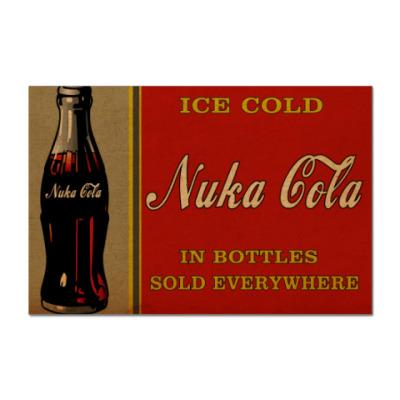 Наклейка (стикер) Nuka Cola