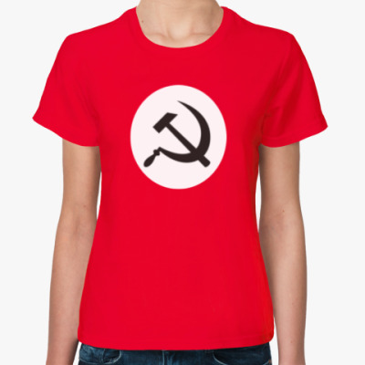 Женская футболка Как у Сида Вишеса