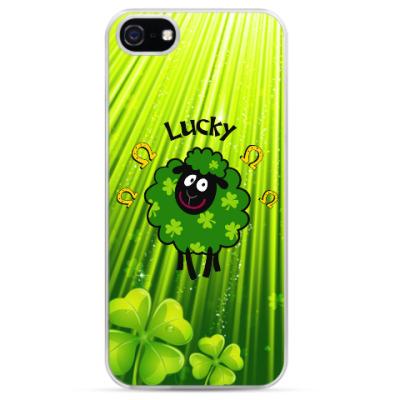 Чехол для iPhone Маленькая овечка